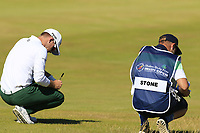 Brandon Stone (RSA) on the 2nd hole during Friday's Round 2 of the 2018 Dubai Duty Free Irish Open, held at Ballyliffin Golf Club, Ireland. 6th July 2018.<br /> Picture: Eoin Clarke | Golffile<br /> <br /> <br /> All photos usage must carry mandatory copyright credit (&copy; Golffile | Eoin Clarke)