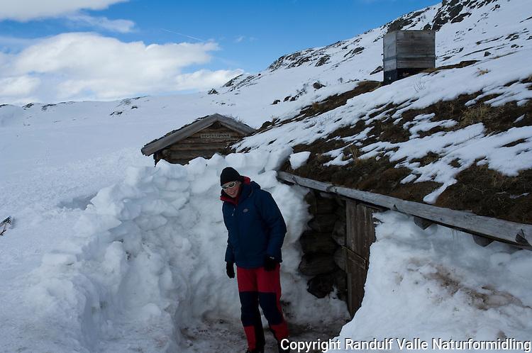 Hytter tilhørende Barnas naturverden ved Hevertjønna --- Log cabin