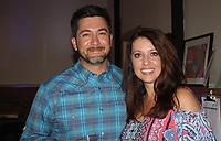 NWA Democrat-Gazette/CARIN SCHOPPMEYER Jesse and Stacy Matlock enjoy Heels and Hammers.