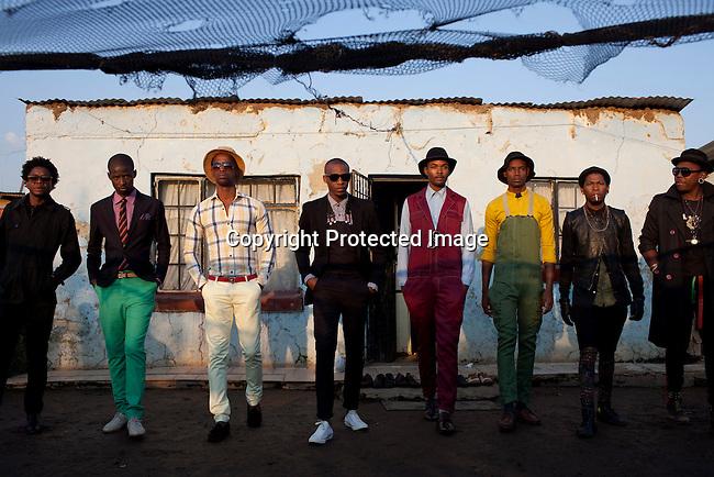 Smarteez Designer during a fashion shoot in Soweto