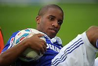FUSSBALL   1. BUNDESLIGA   SAISON 2011/2012    11. SPIELTAG FC Schalke 04 - 1899 Hoffenheim                            29.10.2011 Jefferson FARFAN (Schalke)