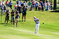 Scott Hend (AUS) on the 11th during round 3 of the 2016 BMW PGA Championship. Wentworth Golf Club, Virginia Water, Surrey, UK. 28/05/2016.<br /> Picture Fran Caffrey / Golffile.ie<br /> <br /> All photo usage must carry mandatory copyright credit (© Golffile   Fran Caffrey)