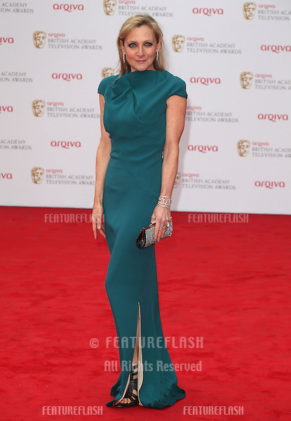 Lesley Sharp arriving for the TV BAFTA Awards 2013, Royal Festival Hall, London. 12/05/2013 Picture by: Alexandra Glen / Featureflash