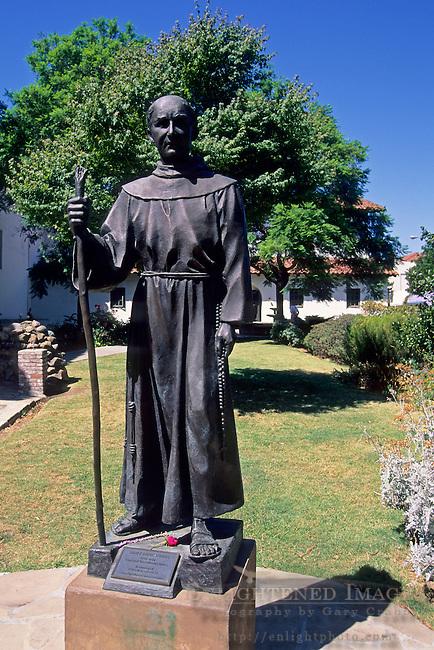 Statue of Father Sera, Mission San Luis Obispo, San Luis Obispo, CALIFORNIA