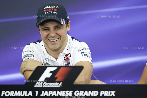 Felipe Massa, <br /> OCTOBER 5, 2017 - F1 : Japanese Formula One Grand Prix <br /> at Suzuka Circuit in Suzuka, Japan. (Photo by Sho Tamura/AFLO) GERMANY OUT