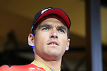 Olympic Champion Greg Van Avermaet (BEL) BMC Racing Team on stage at the Team Presentation in Burgplatz Dusseldorf before the 104th edition of the Tour de France 2017, Dusseldorf, Germany. 29th June 2017.<br /> Picture: Eoin Clarke | Cyclefile<br /> <br /> <br /> All photos usage must carry mandatory copyright credit (&copy; Cyclefile | Eoin Clarke)