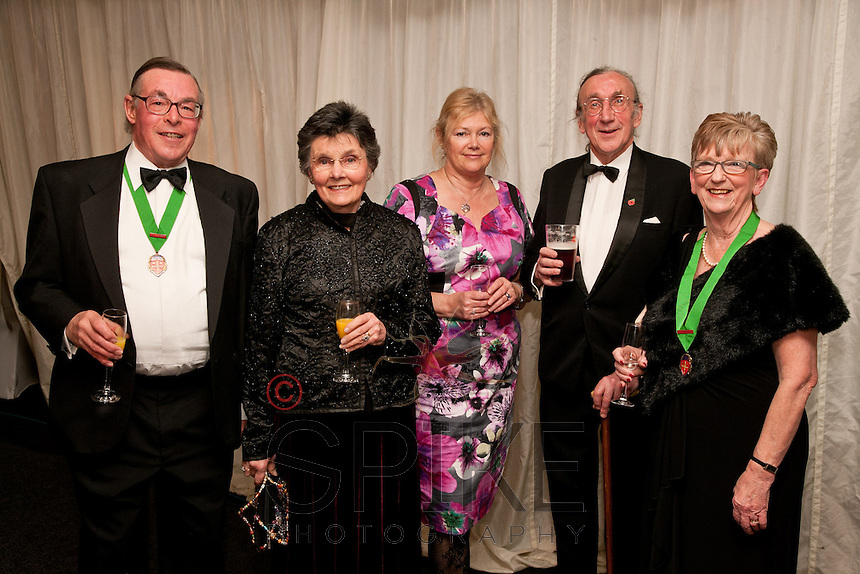 Pictured from left are David Miles, Past President Notts Law Society, Judith Milnes, Jane Holt of KCH Garden Square, Tom Higgon and Christine Dougherty, Past President of Notts Law Society