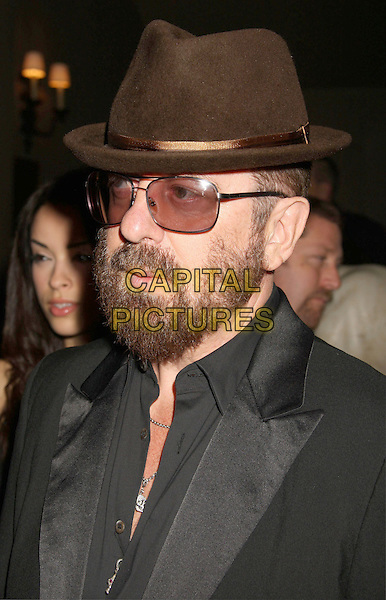 "DAVE STEWART .At Go Campaign's 2nd Annual ""Go Go Gala"" held at Social, Hollywood, California, USA, .20th November 2009..portrait headshot tinted glasses brown hat grey gray black beard facial hair sunglasses profile .CAP/ADM/MJ.©Michael Jade/AdMedia/Capital Pictures."