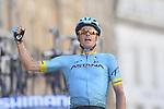 Foto LaPresse/Fabio Ferrari <br /> 17/03/2019 Colli al Matauro (Italia) <br /> Sport Ciclismo<br /> Tirreno-Adriatico 2019 - edizione 54 - da Colli al<br /> Matauro a Recanati (180 km) <br /> Nella foto:durante la tappa.<br /> <br /> Photo LaPresse/Fabio Ferrari <br /> March 17, 2018 Colli al Matauro (Italy)<br /> Sport Cycling<br /> Tirreno-Adriatico 2019 - edition 54 - Colli al Matauro<br /> a Recanati (111 miglia) <br /> In the pic:during the race