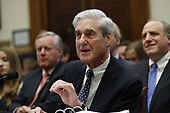 Former Trump-Russia special counsel Robert Mueller gives testimony before the United States House Judiciary Committee on the results of his investigation on Capitol Hill in Washington, DC on Wednesday, July 24, 2019.<br /> Credit: Stefani Reynolds / CNP<br /> (RESTRICTION: NO New York or New Jersey Newspapers or newspapers within a 75 mile radius of New York City)