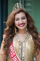 Shree Saini, Miss India USA, Renton Multicultural Festival, WA, USA.