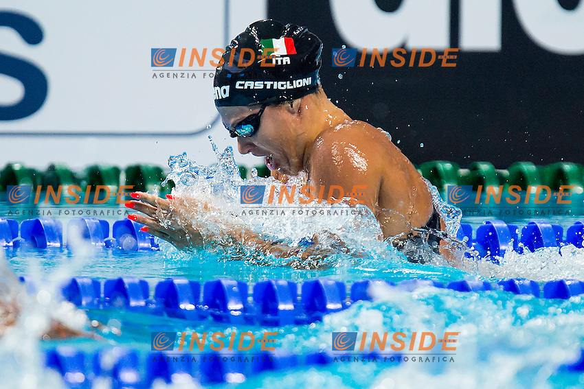 CASTIGLIONI Arianna ITA<br /> 100 Breaststroke Women Final Gold Medal<br /> Swimming - Kazan Arena<br /> Day12 04/08/2015<br /> XVI FINA World Championships Aquatics Swimming<br /> Kazan Tatarstan RUS July 24 - Aug. 9 2015 <br /> Photo A.Masini/Deepbluemedia/Insidefoto
