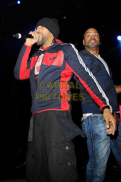 LONDON, ENGLAND - NOVEMBER 02: Method Man (Clifford Smith) and Redman (Reginald 'Reggie' Noble) perform in concert as part of the Superstars of Hip Hop show at the Eventim Apollo on November 2, 2013 in London, England<br /> CAP/MAR<br /> &copy; Martin Harris/Capital Pictures