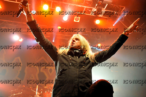 Saxon - vocalist Biff Byford performing live on the 30th Anniversary Tour at Koko in London - 08 Nov 2009 - Photo by: George chin