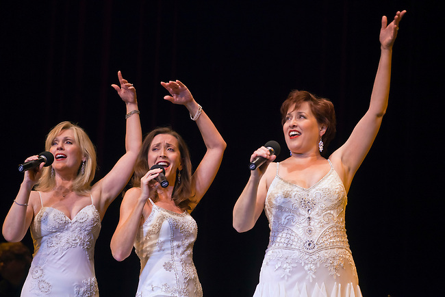 PHANTOMS LEADING LADIES perform at the Sunset Center - CARMEL, CALIFORNIA