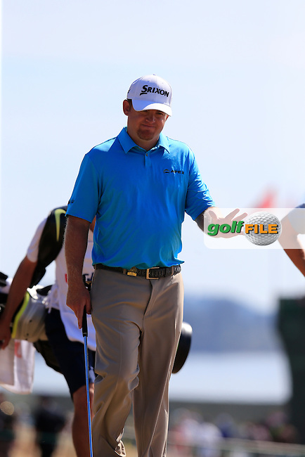 J.B. HOLMES (USA) walks onto the 10th tee during Saturday's Round 3 of the 2015 U.S. Open 115th National Championship held at Chambers Bay, Seattle, Washington, USA. 6/21/2015.<br /> Picture: Golffile | Eoin Clarke<br /> <br /> <br /> <br /> <br /> All photo usage must carry mandatory copyright credit (&copy; Golffile | Eoin Clarke)