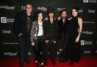 LOS ANGELES, CA - JANUARY 5: Kerry Brown, Sara Gilbert, Linda Perry, Johnny Galecki, Alaina Meyer, at the J/P HRO &amp; Disaster Relief Gala hosted by Sean Penn at Wiltern Theater in Los Angeles, Caliornia on January 5, 2019.            <br /> CAP/MPI/FS<br /> &copy;FS/MPI/Capital Pictures