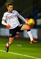 Bolton Wanderers' Craig Noone<br /> <br /> Photographer Alex Dodd/CameraSport<br /> <br /> The EFL Sky Bet Championship - Bolton Wanderers v West Bromwich Albion - Monday 21st January 2019 - University of Bolton Stadium - Bolton<br /> <br /> World Copyright © 2019 CameraSport. All rights reserved. 43 Linden Ave. Countesthorpe. Leicester. England. LE8 5PG - Tel: +44 (0) 116 277 4147 - admin@camerasport.com - www.camerasport.com