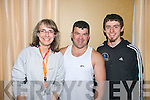Patrycja Czarnoleska, John Walsh and Michael Brosnan at the FITTSPORT Convention on Friday.