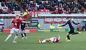 2nd February 2019, Hope CBD Stadium, Hamilton, Scotland; Ladbrokes Premiership football, Hamilton Academical versus Dundee; Scott Wright of Dundee scores for 1-0 in the 68th minute