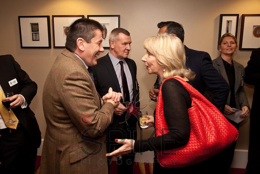 Nigel Rowlson of The Dairy with Judy Naake