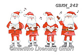 Kate, CHRISTMAS SANTA, SNOWMAN, WEIHNACHTSMÄNNER, SCHNEEMÄNNER, PAPÁ NOEL, MUÑECOS DE NIEVE, paintings+++++Christmas page 95 #,GBKM242,#x# ,sticker,stickers