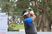 Prom Meesawat (THA) on the 7th tee during Round 1 of the UBS Hong Kong Open, at Hong Kong golf club, Fanling, Hong Kong. 23/11/2017<br /> Picture: Golffile | Thos Caffrey<br /> <br /> <br /> All photo usage must carry mandatory copyright credit     (&copy; Golffile | Thos Caffrey)