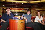 Ron Raines - Robert Bogue and Liz Keifer - Fans and Liz Keifer play bingo and have a Meet & Greet - Day 2 - August 1, 2010 - So Long Springfield at Sea aboard Carnival's Glory (Photos by Sue Coflin/Max Photos)