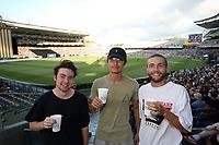 Try new Hops Lager. Pakistan tour of New Zealand. T20 Series. 2nd Twenty20 international cricket match, Eden Park, Auckland, New Zealand. Thursday 25 January 2018. © Copyright Photo: Shane Wenzlick / www.Photosport.nz
