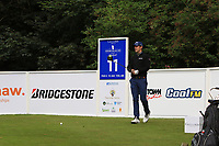 Andrea Pavan (ITA) during Round 1 of the Northern Ireland Open at Galgorm Golf Club, Ballymena Co. Antrim. 10/08/2017<br /> Picture: Golffile | Thos Caffrey<br /> <br /> <br /> All photo usage must carry mandatory copyright credit (&copy; Golffile | Thos Caffrey)