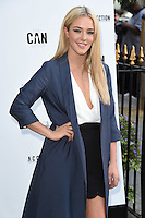 Taylor Ward<br /> arrives for the Amy Childs Summer Collection show at Beach Blanket Babylon, Notting Hill, London.<br /> <br /> <br /> ©Ash Knotek  D3129  06/06/2016