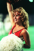 Ottawa Rough Rider Cheerleaders 1984. Photo F. Scott Grant
