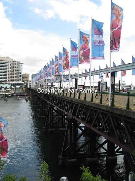 Bridge to Darling Harbour, Sydney