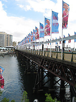 Bridge to Darling Harbour, Sydney