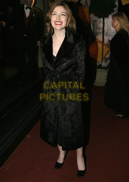 KELLY MacDONALD.Official BAFTA Aftershow Dinner Party, .Grosvenor House, Park lane, London, .February 12th 2005..full length McDonald.Ref: AH.www.capitalpictures.com.sales@capitalpictures.com.©Capital Pictures.