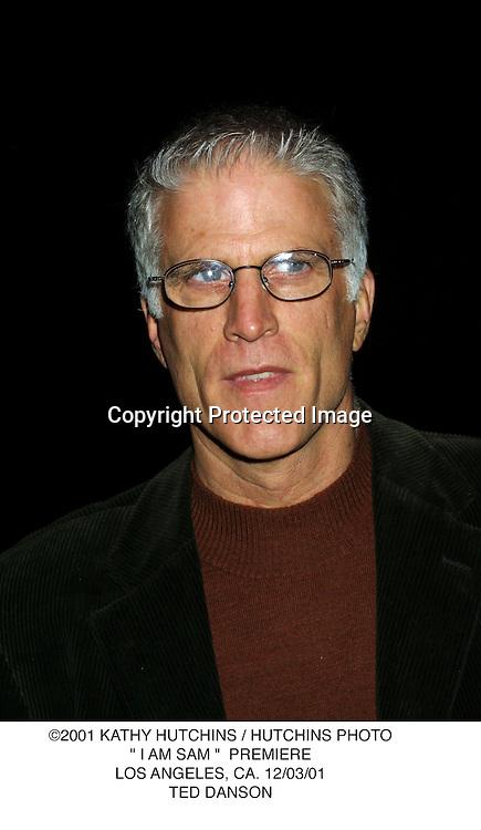 "©2001 KATHY HUTCHINS / HUTCHINS PHOTO."" I AM SAM ""  PREMIERE.LOS ANGELES, CA. 12/03/01.TED DANSON"