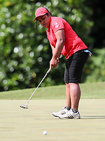 Olive Tapu of Canterbury. Day Four semi finals of the Toro Interprovincial Women's Championship, Sherwood Golf Club, Whangarei,  New Zealand. Friday 8 December 2017. Photo: Simon Watts/www.bwmedia.co.nz