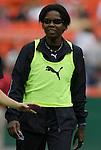 18 July 2009: Washington's Briana Scurry. The Washington Freedom defeated Saint Louis Athletica 1-0 at the RFK Stadium in Washington, DC in a regular season Women's Professional Soccer game.