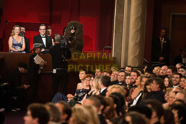 During the live ABC Telecast of The 88th Oscars&reg; at the Dolby&reg; Theatre in Hollywood, CA on Sunday, February 28, 2016.<br /> *Editorial Use Only*<br /> CAP/PLF<br /> Supplied by Capital Pictures