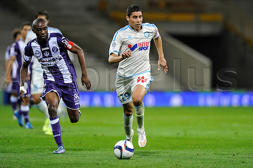 23.09.2015. Toulouse, France. French League 1 football. Toulouse versus Marseille.  Abdelaziz BARRADA (om)
