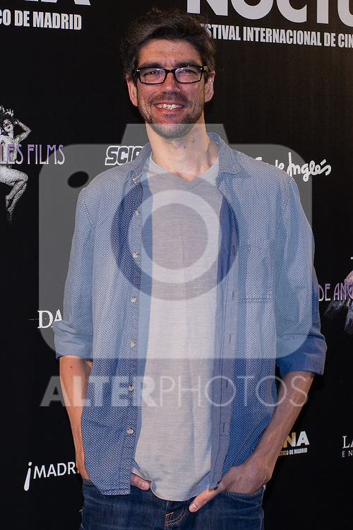 Javier Botet at Nocturna, the international festival of fantastic cinema of Madrid. May 23,2016. (ALTERPHOTOS/Rodrigo Jimenez)