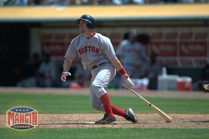 Bill Mueller. Boston Red Sox vs Oakland Athletics. Oakland, CA 8/14/2003 MANDATORY CREDIT: Brad Mangin