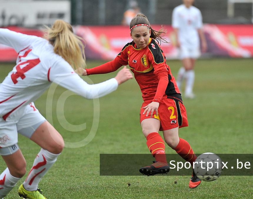 Belgium U19 - Switzerland U19 : Belgian  Taika De Koker.foto DAVID CATRY / Nikonpro.be