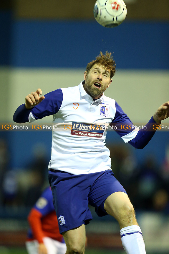 Grant Holt of Barrow during Barrow vs Dagenham & Redbridge, Vanarama National League Football at the Furness Building Society Stadium on 9th December 2017
