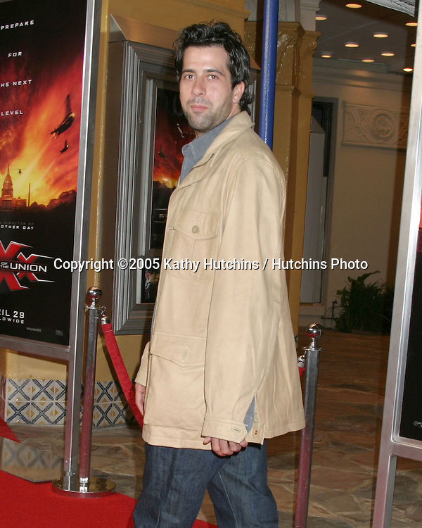 ".Premiere of ""XXX:  State of the Union"".Westwood, CA.April 25, 2005.@2005 Kathy Hutchins / Hutchins Photo.Troy Garity.Premiere of ""XXX:  State of the Union"".Westwood, CA.April 25, 2005.@2005 Kathy Hutchins / Hutchins Photo."