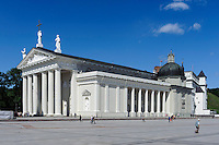 Stanislaus-Kathedrale in Vilnius, Litauen, Europa, Unesco-Weltkulturerbe