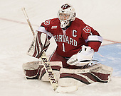 Laura Bellamy (Harvard - 1) - The Boston College Eagles defeated the visiting Harvard University Crimson 3-1 in their NCAA quarterfinal matchup on Saturday, March 16, 2013, at Kelley Rink in Conte Forum in Chestnut Hill, Massachusetts.