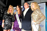 HOLLYWOOD, FL - DECEMBER 09: Guest, Karina Brez, Miss Florida USA 2012,  Phil Madow president of the Seminole Hard Rock Hotel & Casino and Gracie Simmons, Miss Florida Teen USA 2012  attends the Seminole Hard Rock Winterfest Boat Parade 2011 Grand Marshal reception at Passion Night Club! in the Seminole Hard Rock Hotel & Casino on December 9, 2011 in Hollywood, Florida. (Photo by Johnny Louis/jlnphotography.com)