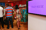 Guests shopping during the African Health Now - Fashion Fete event, at the Tracy Reese store on 641 Hudson Street, June 20, 2013.