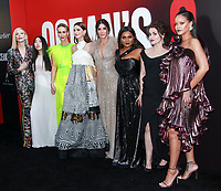 NEW YORK, NY - JUNE 5: Cast of Ocean's 8  at Ocean&rsquo;s 8 World Premiere at Alice Tully Hall on June 5, 2018 in New York City. <br /> CAP/MPI99<br /> &copy;MPI99/Capital Pictures